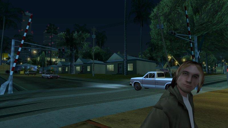 GTA San Andreas Missing railroad crossing barriers in LS Mod
