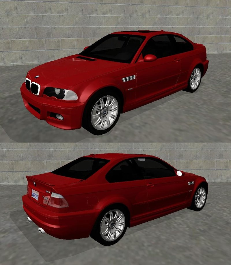 GTA San Andreas 2004 BMW M3 E46 (Fully Tunable And