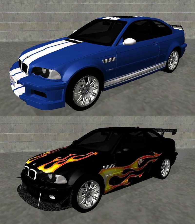 2004 Bmw M3: GTA San Andreas 2004 BMW M3 E46 (Fully Tunable And