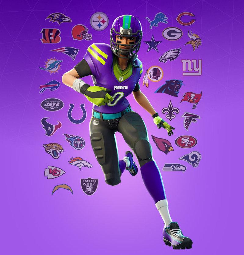 GTA San Andreas Fortnite NFL Female Skin (Sarah) Mod