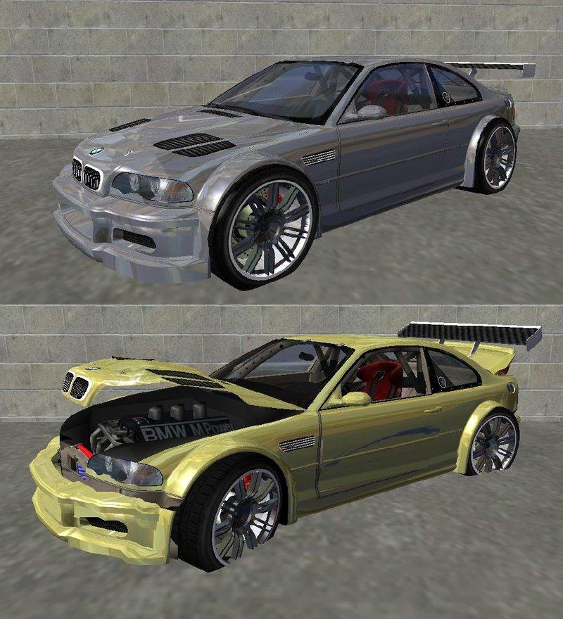 Bmw M3 Gtr: GTA San Andreas 2001 BMW M3 E46 GTR Most Wanted (2012