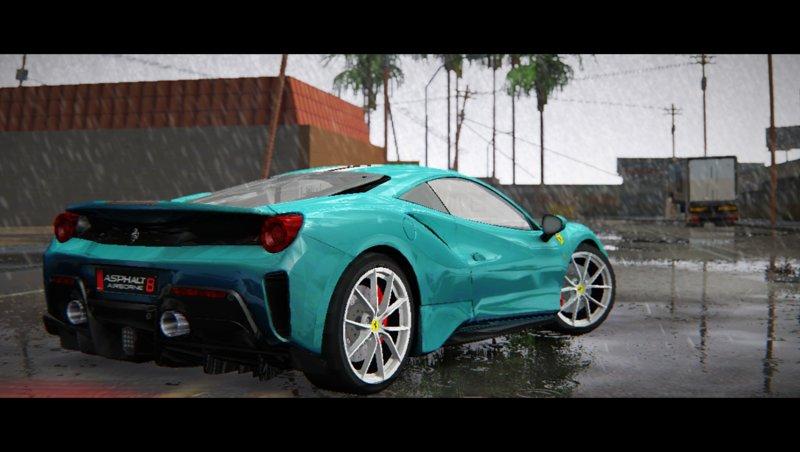 Gta San Andreas 2019 Ferrari 488 Pista Mod Gtainsidecom