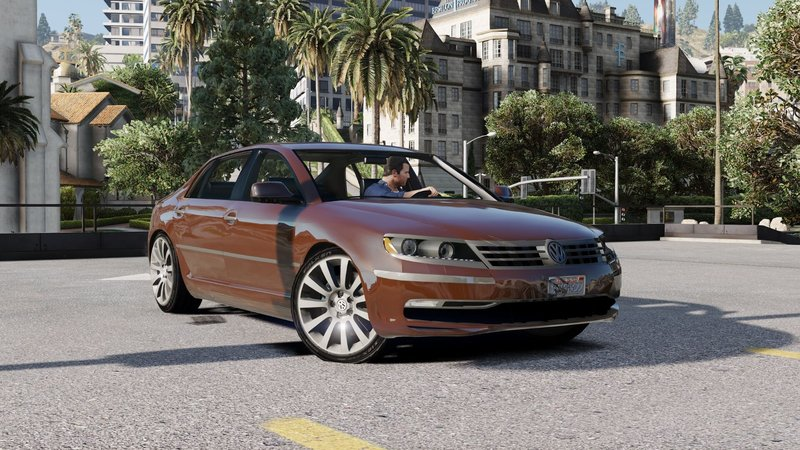 gta 5 2014 volkswagen phaeton w12 mod. Black Bedroom Furniture Sets. Home Design Ideas