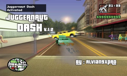 Juggernaut Dash v.1.2 (PC) ( Reset car like NFS and Speedbreaker )
