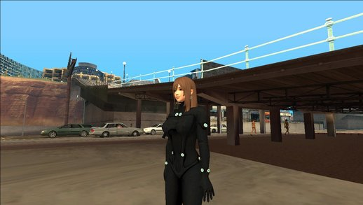 Naotora Ii - Gantz Outfit V1 (all dressed )