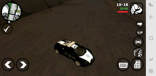 Bugatti Veyron Federal Police for Mobile