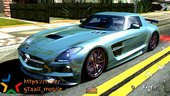 Mercedes Benz SLS500 AMG (only dff)