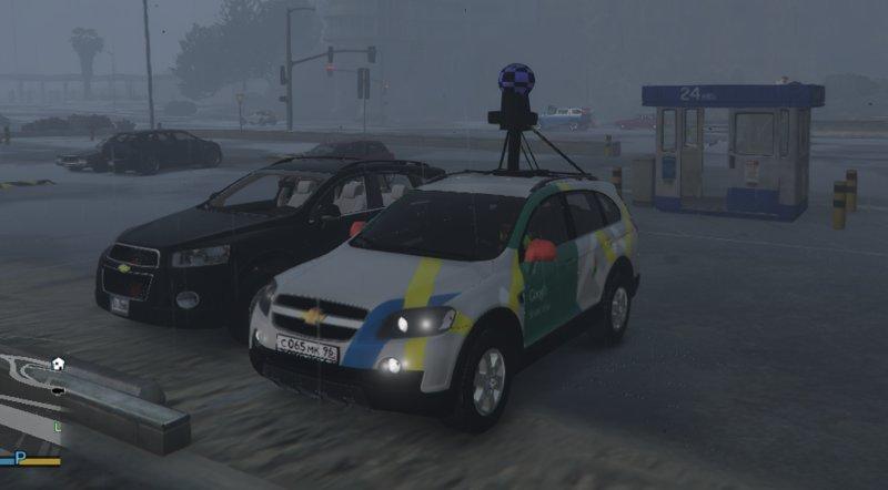 GTA 5 Google Maps Street View 2006 Chevrolet Captiva VCDI 16V C100