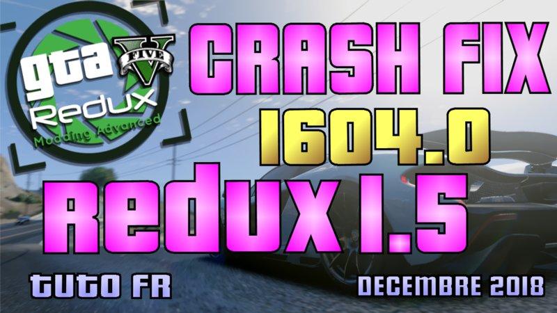 GTA 5 Redux 1 5 Crash Fix Mod - GTAinside com