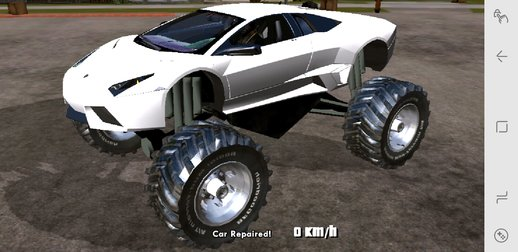 Lamborghini Reventon Monster Truck for Mobile