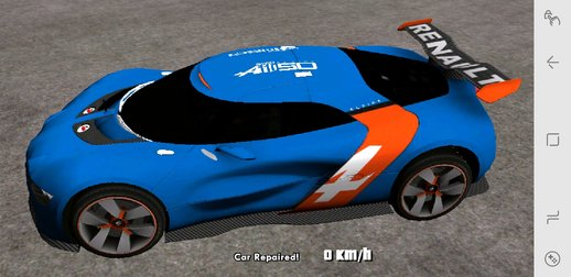 Renault Alpine A110-50 for Mobile