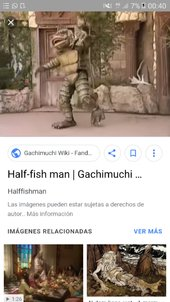 Half Fish-man or Moat Monster