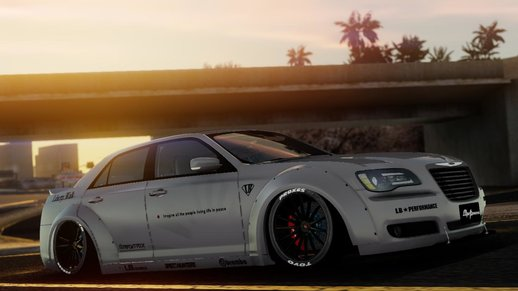 2012 Chrysler 300 SRT8 Liberty Walk LB Performance