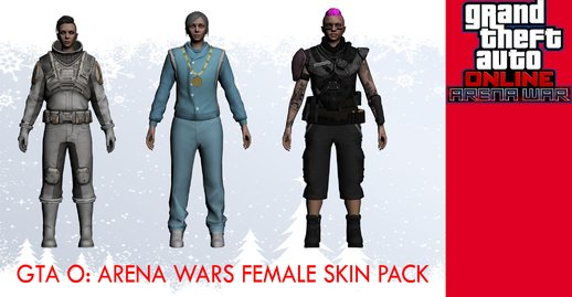 GTA Online: Arena Wars Female skin pack