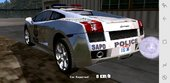 GTA SA Mobile Lamborghini Gallardo Federal Police