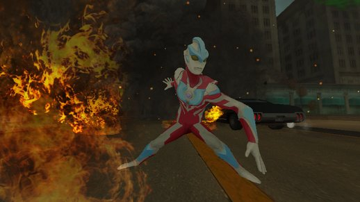 Skin Ultraman Ginga