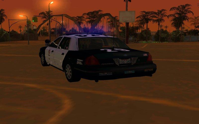 GTA San Andreas Ford Crown Vic Police Interceptor Mod - GTAinside.com