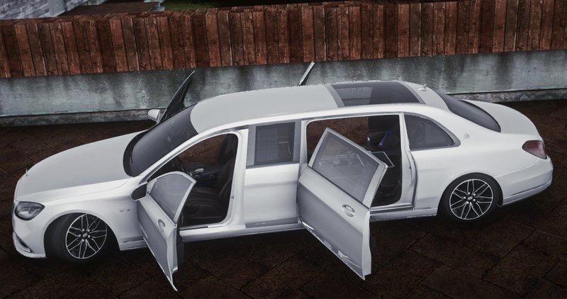 Gta San Andreas Mercedes Benz S650 Pullman Maybach 2019 Mod