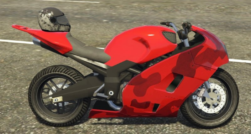 GTA 5 2008 Suzuki Hayabusa 1300 Stunt Bike Replica [Add-On