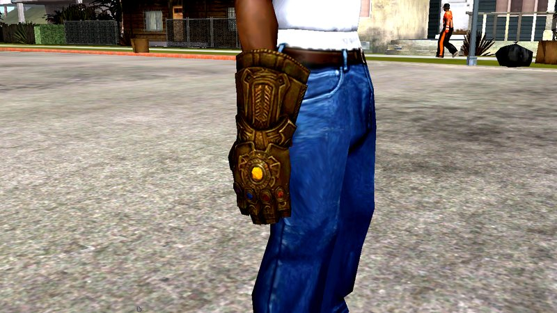 GTA San Andreas Thanos Infinity Guantlet for Android Mod