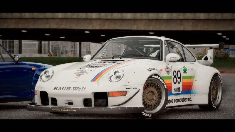 Targa Rwb Walpaper: GTA 5 1995 Porsche 911 GT2 (993) + RWB [Add-On