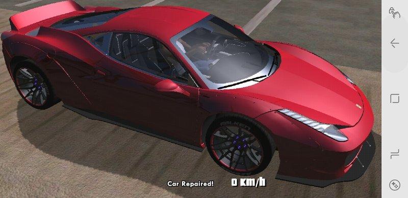 GTA San Andreas GTA SA Mobile Ferrari 458 Mod - GTAinside com
