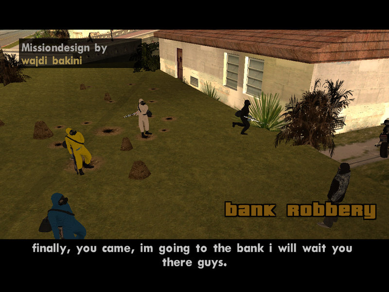 gta v bank robbery mod