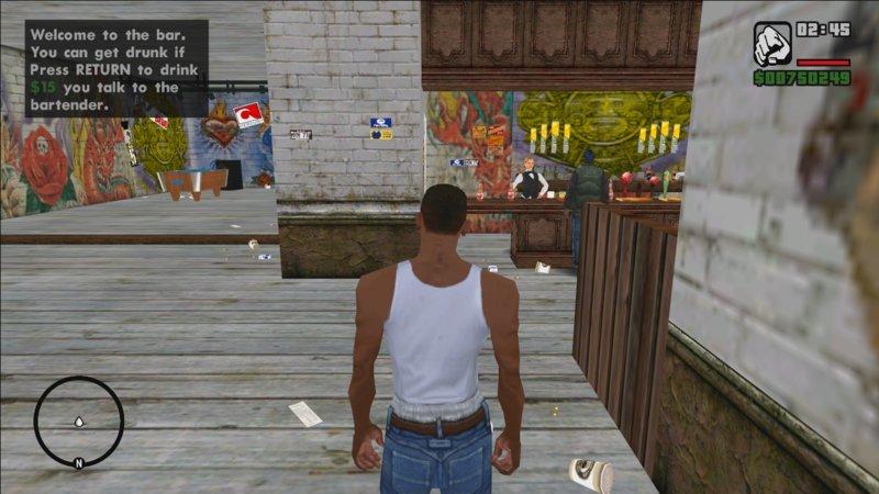GTA San Andreas GTA 5 DRUNK EFFECT BETA Mod - GTAinside com