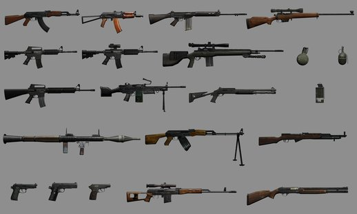 Insurgency: Modern Infantry Combat Weapons Pack