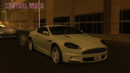 Aston Martin DBS - Low Poly - Fix