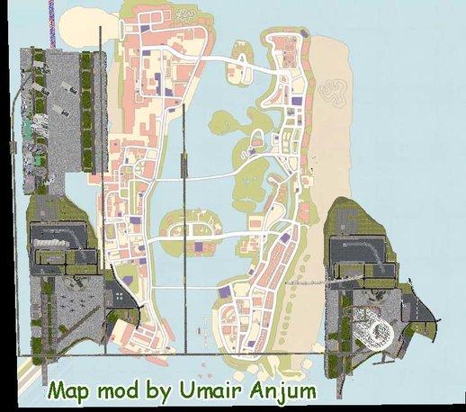 GTA VC Big Map Mod