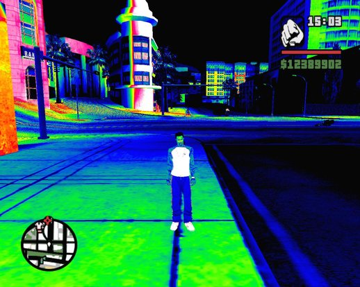 New Thermal\Night Vision Effect