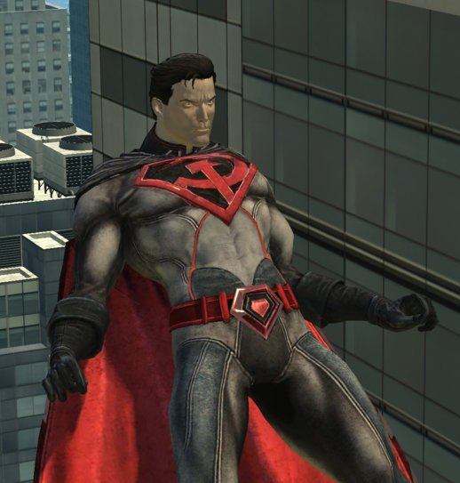 Injustice Red Son Superman