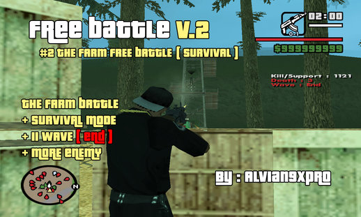 A9x Free Battle v.2 (PC) #2 The Farm Free Battle (Survival)