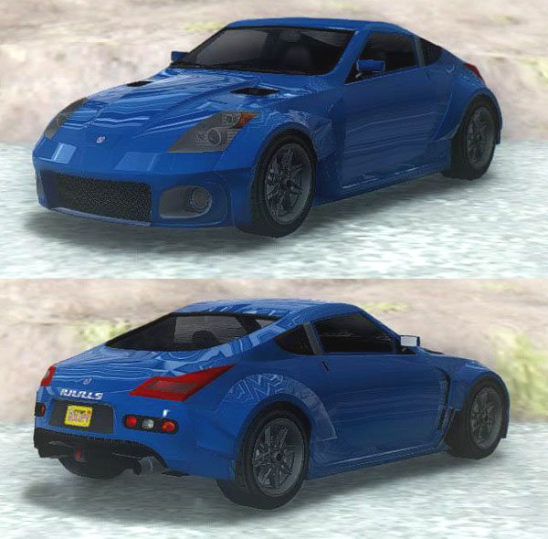 MB GAMES DRAGSTER BLUE REPLACEMENT CAR
