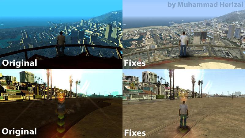GTA San Andreas Timecyc v1 0 for GTA VxIV2SA Beta III Mod