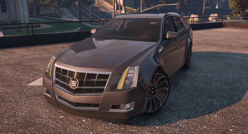 GTA 5 Cadillac CTS Sport Wagon (2010) [Add-On   FiveM] Mod