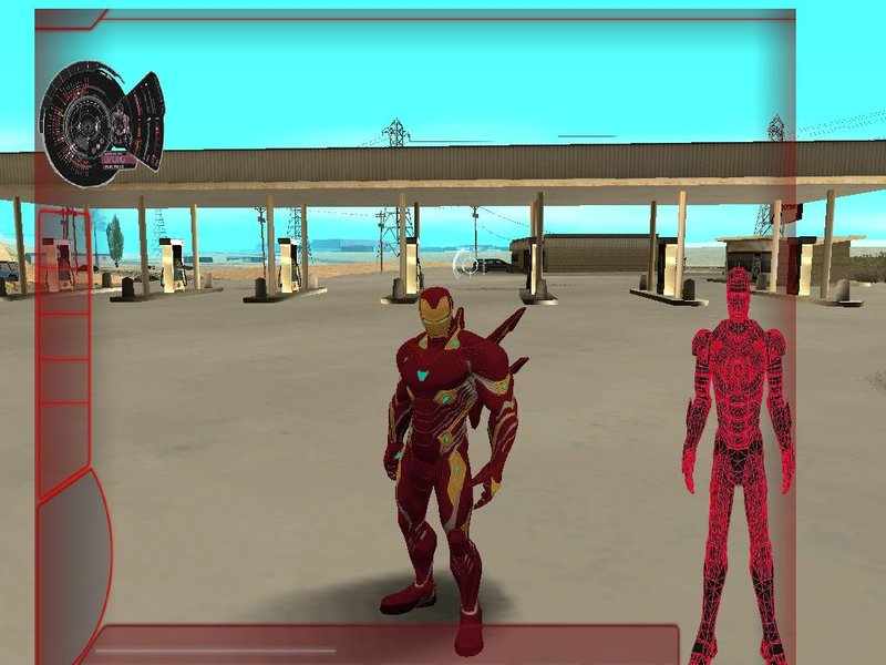 GTA San Andreas Iron Man Mark 50 Skin Pack Mod - GTAinside com