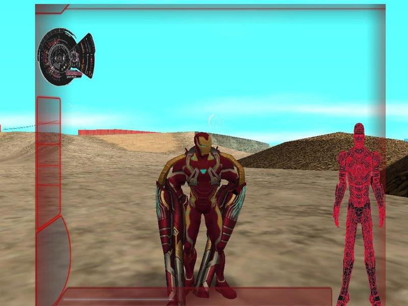 GTA San Andreas Iron Man Mark 50 Skin Pack Mod - GTAinside com