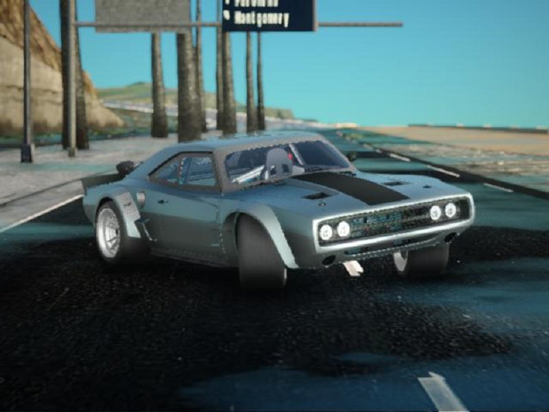 Gta San Andreas Dodge Ice Charger R T 70 Mod Gtainside Com