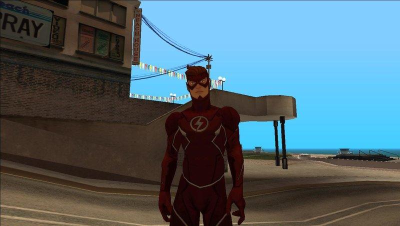 GTA San Andreas Wally West (Original Kid Flash) Heroic Mod