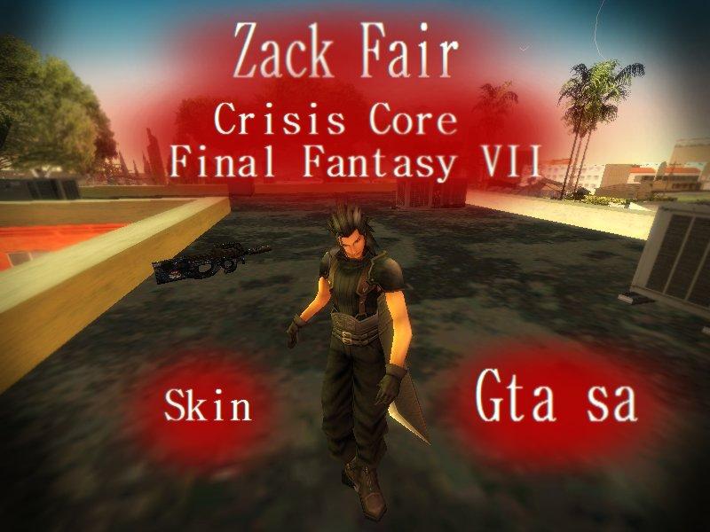 GTA San Andreas Zack Fair - Crisis Core: Final Fantasy VII