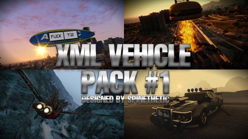 GTA 5 XML Vehicle Pack #1 [MenYoo] Mod - GTAinside com