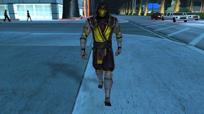 GTA San Andreas Scorpion MK11 Mod - GTAinside com