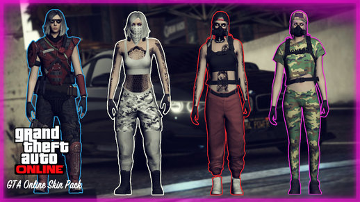 GTA Online Female Skin Pack
