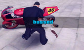 GTA V Wasted and Busted Screen For SA (PC) Original Version