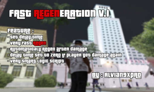 Fast Regeneration v.1 (PC) + Delay Time adjustments