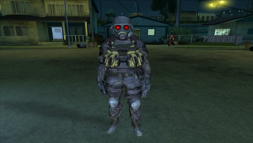 Hunk from RE 2 Remake