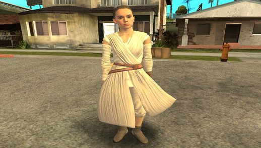 Rey From Star Wars Vii (with Normal Map)