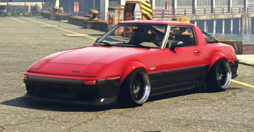 1984 Mazda RX-7 Stanced Version |Five-M|Replace|Add-On|